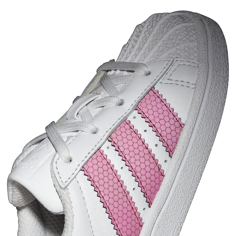 sports shoes 08fec b1598 adidas Originals Superstar I Sneaker weiß pink