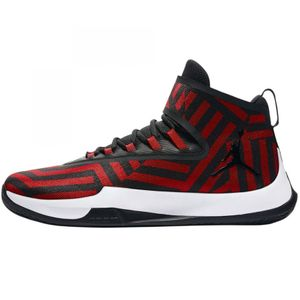 Jordan Fly Unlimited Basketball High-Top rot schwarz AA1282 602 – Bild 2