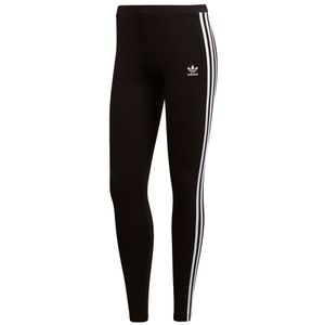 adidas Originals 3-Stripes Tight Damen Leggings schwarz weiß CE2441 – Bild 1