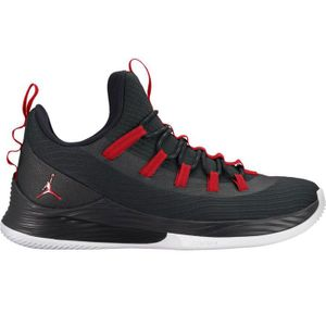 Jordan Ultra Fly 2 Low Herren Basketball schwarz weiß rot AH8110 001