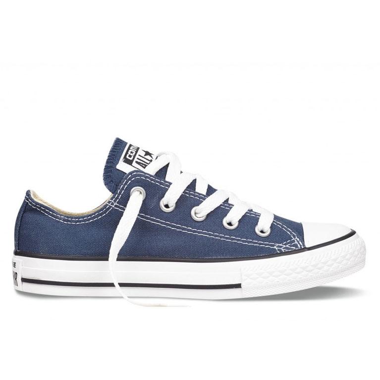 Converse Youth All Star OX Chucks Kinder blau 3J237C