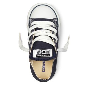 Converse Baby All Star OX Chucks Kinder navy 7J237C  – Bild 4