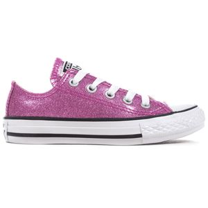 Converse CT AS OX Chuck Taylor All Star Kinder bright violet 660047C – Bild 1