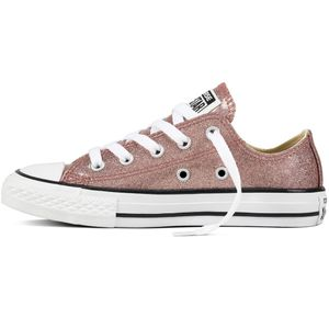 Converse CT AS OX Chuck Taylor All Star Kinder Glitzer Chucks rosa – Bild 2