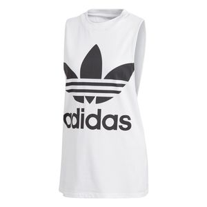 adidas Originals Trefoil Tank Top Damen weiß CE5580