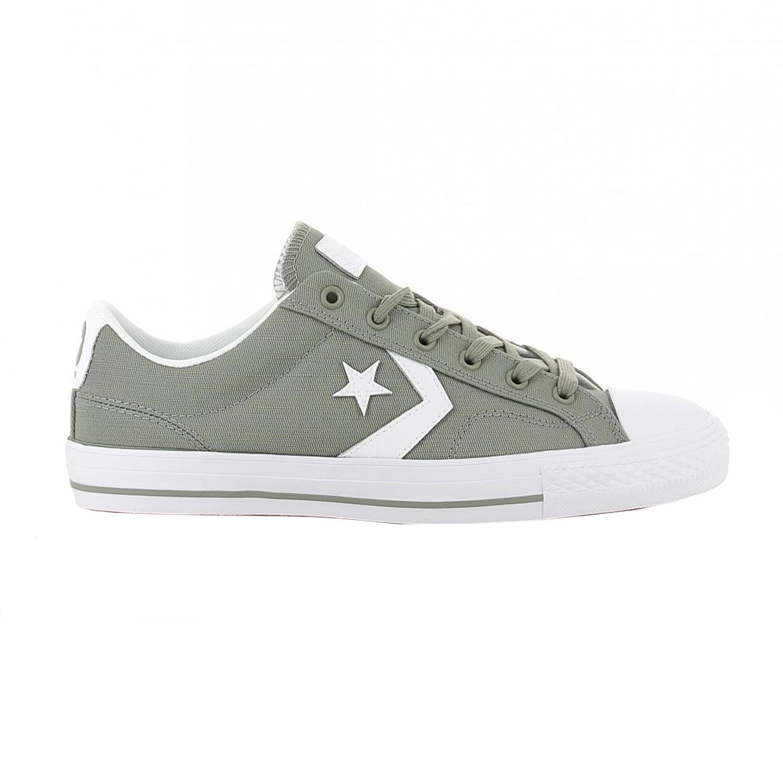 Converse Star Player OX Herren Sneaker grau weiß 161072C