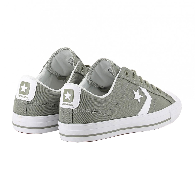 online store bed6f b107a Converse Star Player OX Herren Sneaker grau weiß 161072C