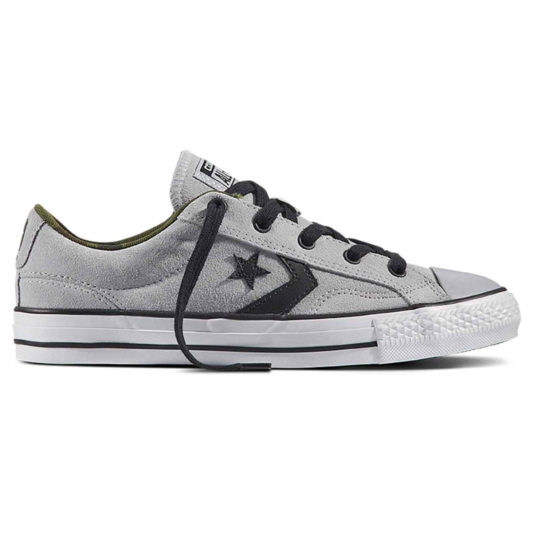 Converse Star Player OX Herren Sneaker hellgrau weiß 159777C