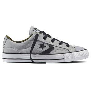 Converse Star Player OX Herren Sneaker hellgrau weiß 159777C – Bild 1