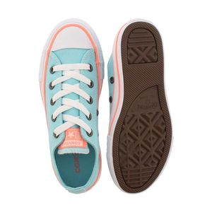 Converse Youth All Star OX Chucks Kinder bleached aqua 660732C – Bild 3
