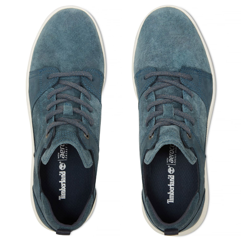 c870365c57ecfa Timberland Flyroam Leather Herrenschuh blau A1OBS – Bild 4