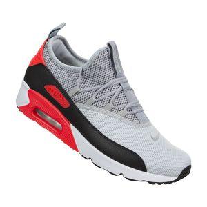 Nike Air Max 90 EZ Herren Sneaker grau schwarz rot AO1745 002 – Bild 3
