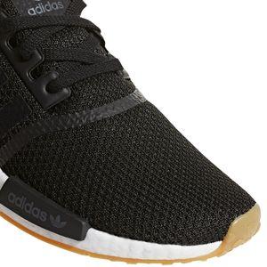 adidas Originals NMD_R1 Herren Sneaker schwarz weiß B42200 – Bild 2