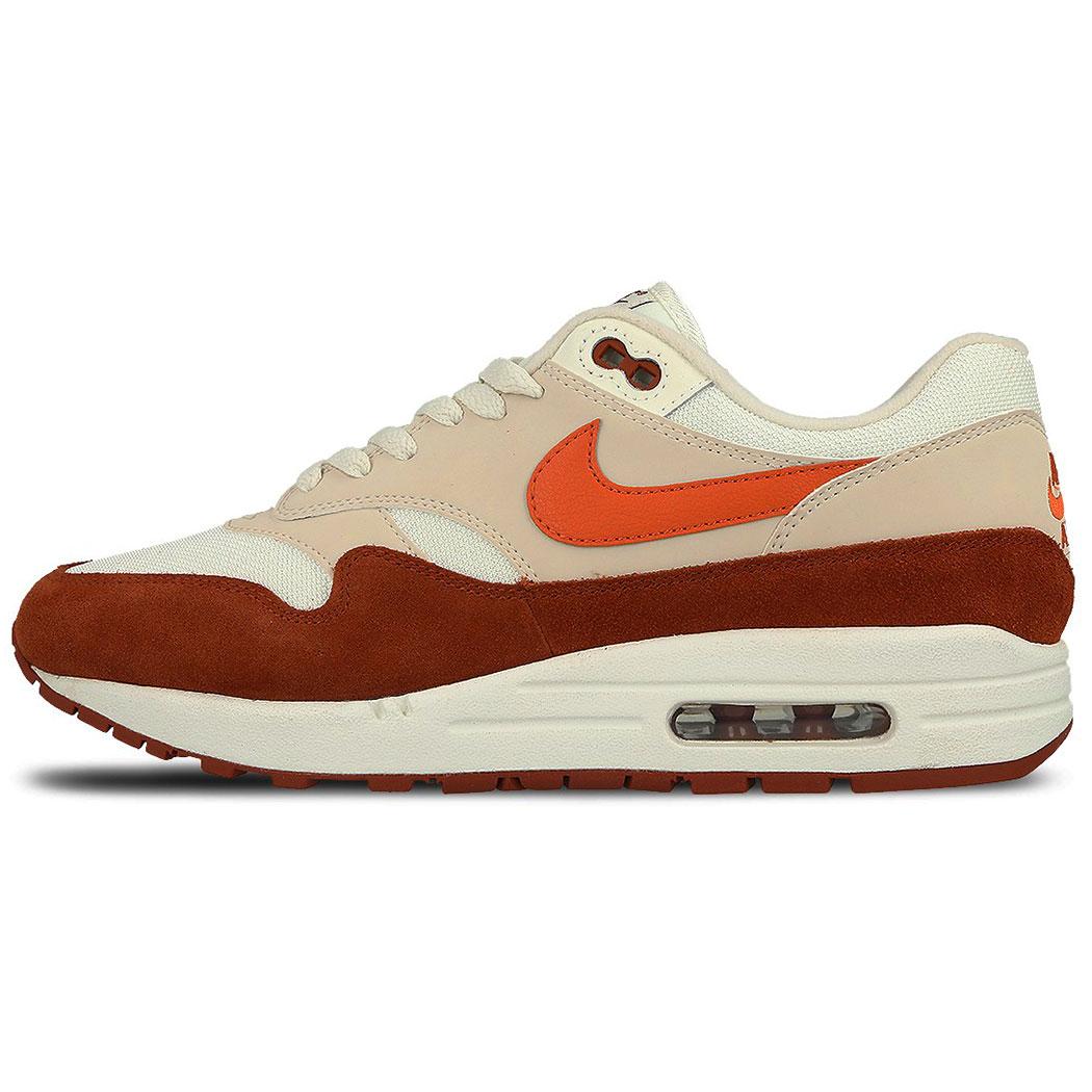 Nike Air Max 1 Sneaker low beige braun orange AH8145 104