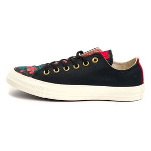 Converse CTAS OX Chuck Taylor All Star black cherry red 561663C – Bild 2