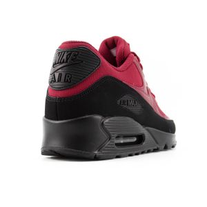 Nike Air Max 90 Essential Herren Sneaker black red crush AJ1285 010 – Bild 3