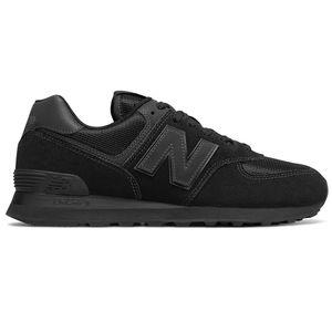 New Balance ML574ETE Herren Sneaker 657391-60 8 schwarz – Bild 1