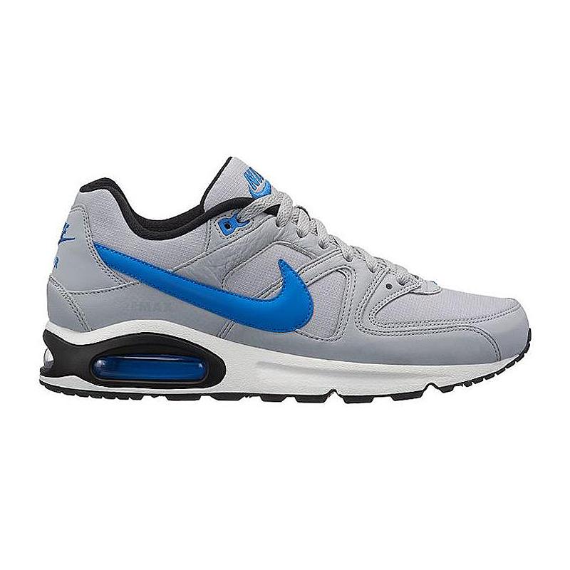 nike air max command herren sneaker grau blau 629993 036. Black Bedroom Furniture Sets. Home Design Ideas