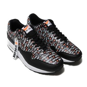 "Nike Air Max 1 Premium ""Just do it"" schwarz 875844 009 – Bild 3"