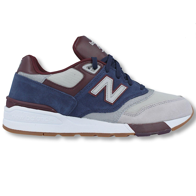 85b8b9ddbbf153 New Balance ML597GNB Herren Sneaker grau blau 657361-60 12