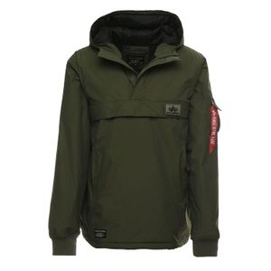 Alpha Industries Herren WP Anorak dark green  – Bild 1