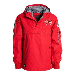 Alpha Industries NASA Anorak Herrenjacke speed red 188133/328