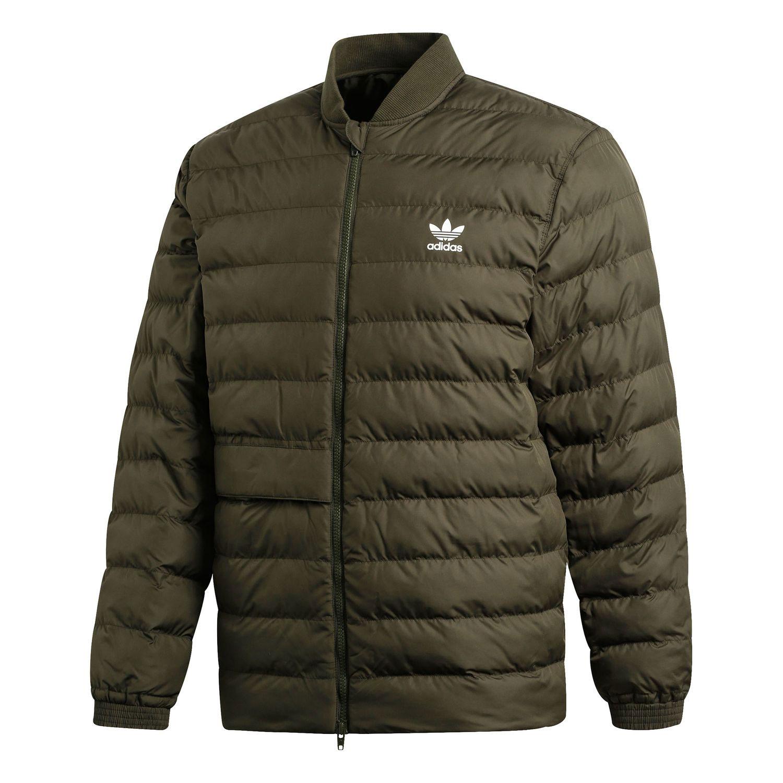 adidas Originals SST Outdoor Jacket Herren Steppjacke olive DJ3193