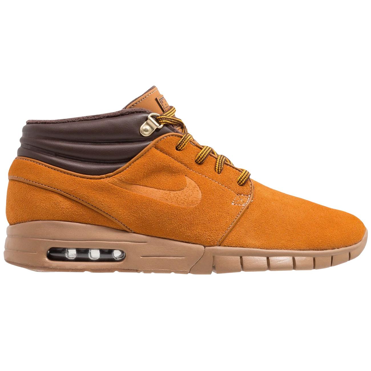 Nike Stefan Janoski Max Mid PRM Sneaker Herren braun