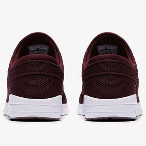 Nike Stefan Janoski Max Sneaker Herren weinrot weiß – Bild 3