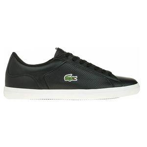 Lacoste Lerond 418 Herren Sneaker Leather schwarz low – Bild 1
