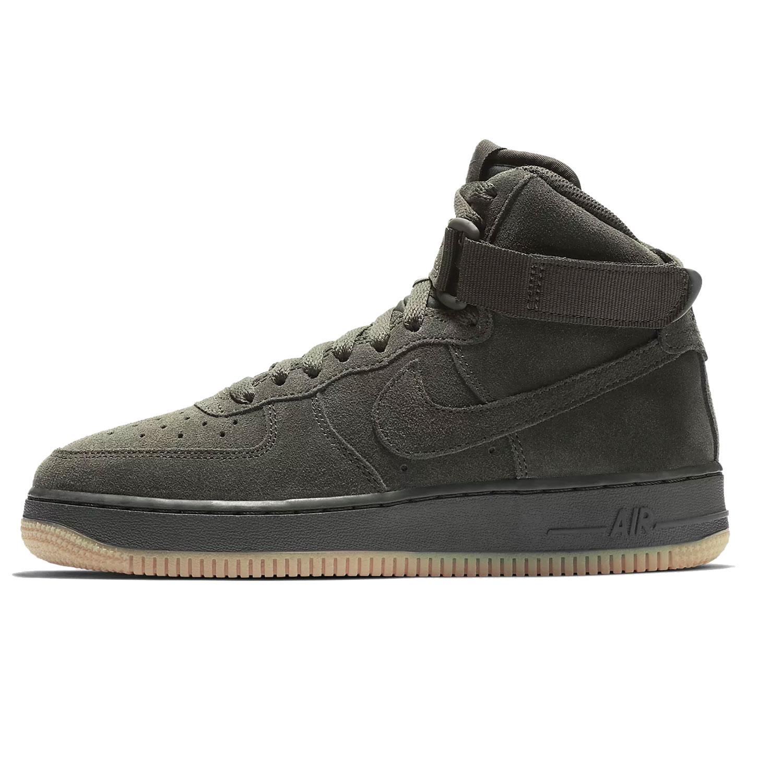 sehr bekannt Suche nach Beamten damen Nike Air Force 1 High LV8 GS Kinder Sneaker dunkelgrün 807617 300