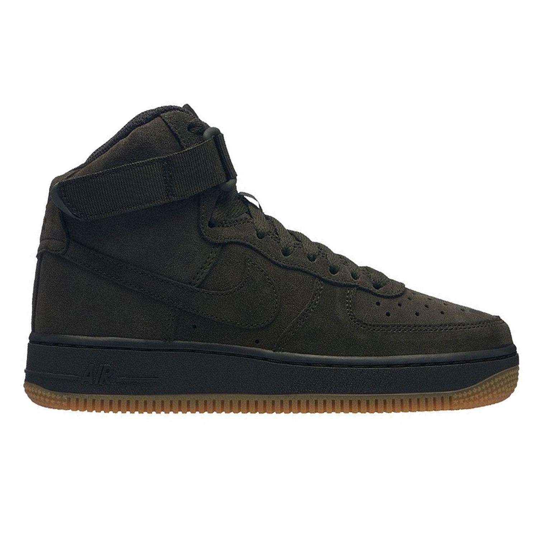 Nike Air Force 1 High LV8 GS Kinder Sneaker dunkelgrün 807617 300