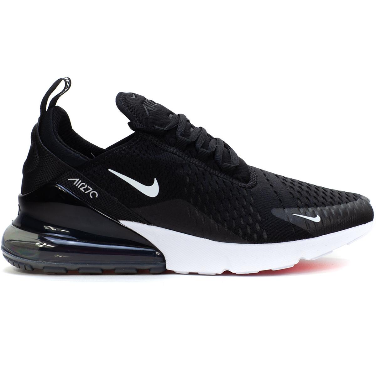 093c1e21193306 Nike Air Max 270 Herren Sneaker schwarz weiß AH8050 002
