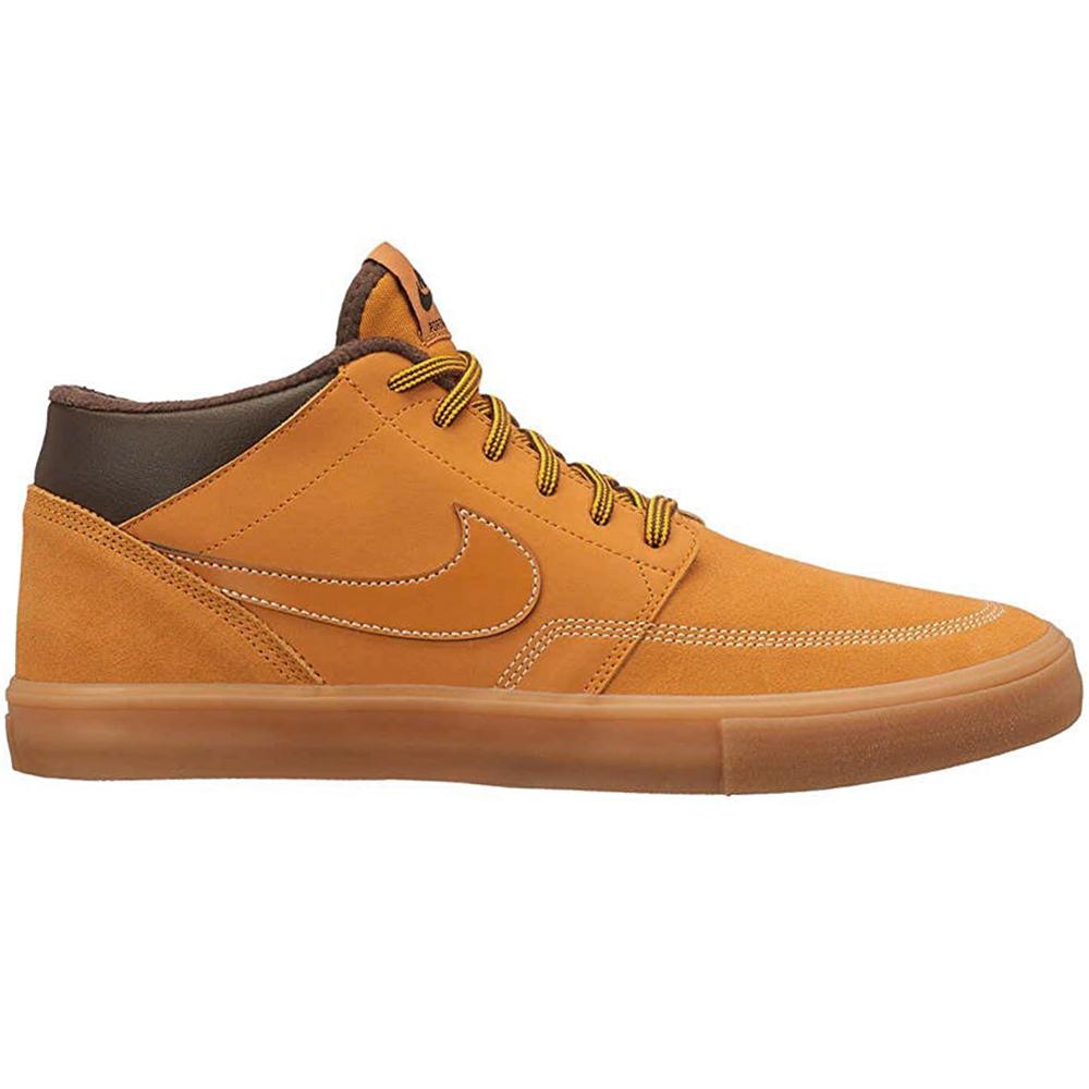 Nike SB Portmore II Solar M Bota Herren Sneaker braun AJ6978 779