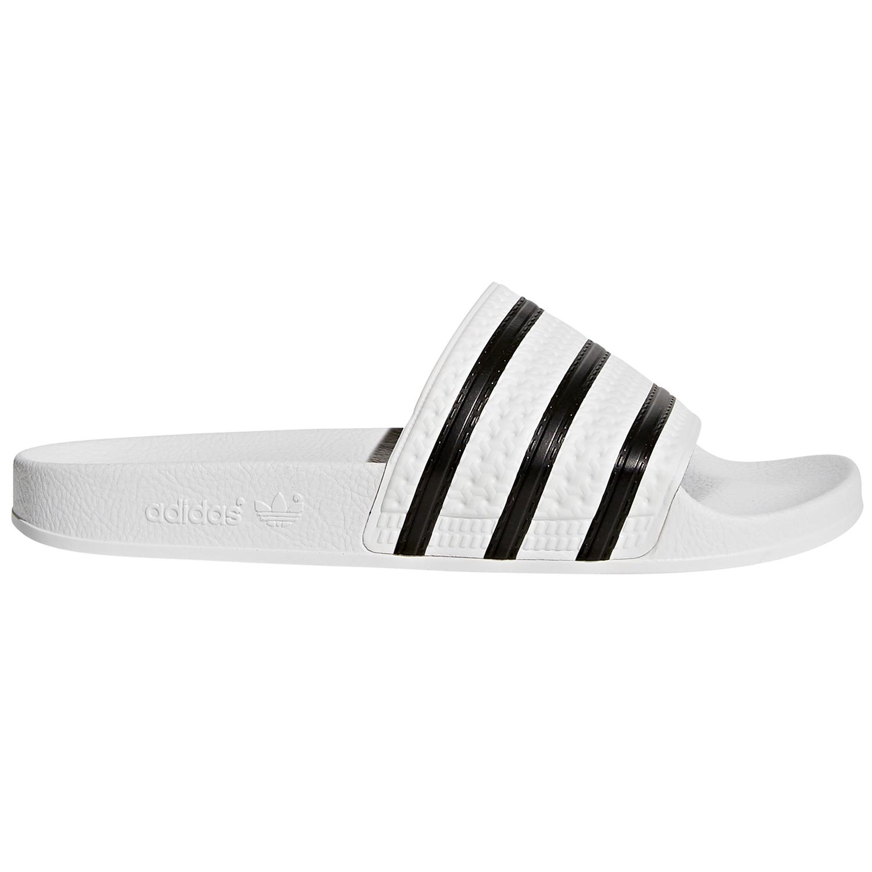 adidas Originals Adilette Badeschuhe weiß schwarz 280648