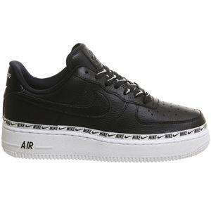 Nike W Air Force 1 '07 SE PRM Damen Sneaker schwarz weiß AH6827 002 – Bild 1