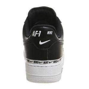 Nike W Air Force 1 '07 SE PRM Damen Sneaker schwarz weiß AH6827 002 – Bild 4
