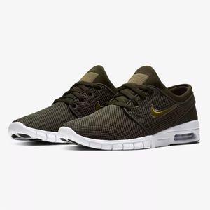Nike Stefan Janoski Max Herren Sneaker sequoia olive 631303 304 – Bild 3