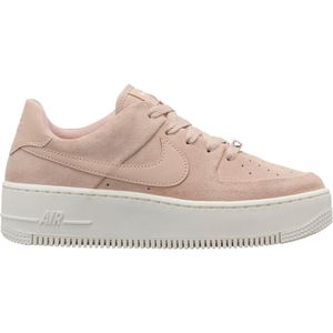 Nike W Air Force 1 Sage Low Damen Sneaker particle beige AR5339 201 – Bild 1
