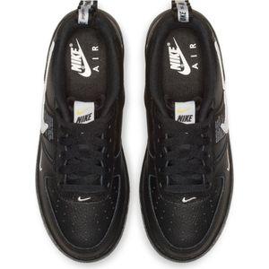Nike Air Force 1 LV8 Utility GS Sneaker schwarz weiß AR1708 001 – Bild 5