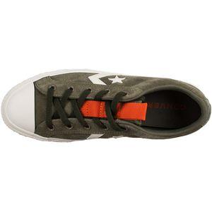 Converse Star Player OX Herren Leder Sneaker grün weiß 162568C – Bild 3