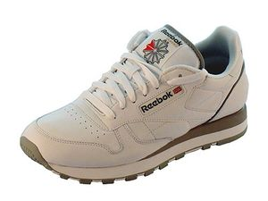 Reebok Classic Leather Herrensneaker weiß grau