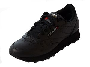 Reebok Classic Leather Herrensneaker schwarz
