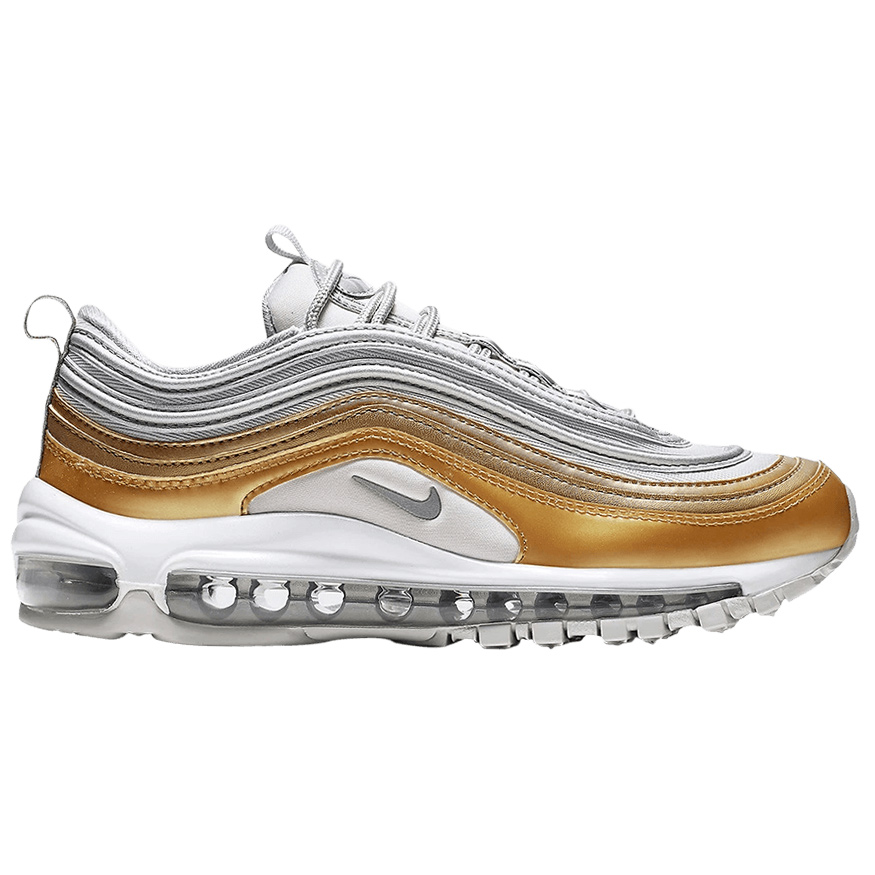 best authentic fantastic savings outlet Nike W Air Max 97 SE Sneaker grau gold silber low