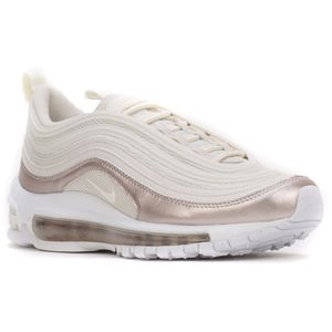 Nike Air Max 97 GS Sneaker weiß rose metallic 921523 002 – Bild 3