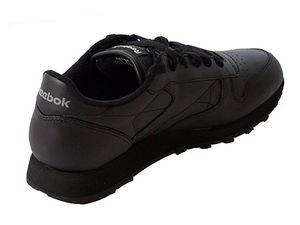 Reebok Classic Leather Damensneaker schwarz – Bild 2