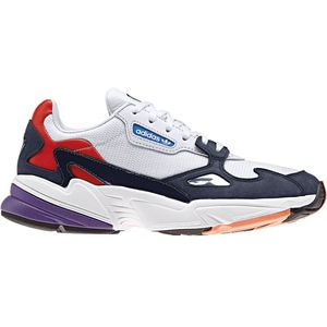 adidas Originals Falcon W Damen Sneaker weiß blau rot CG6246