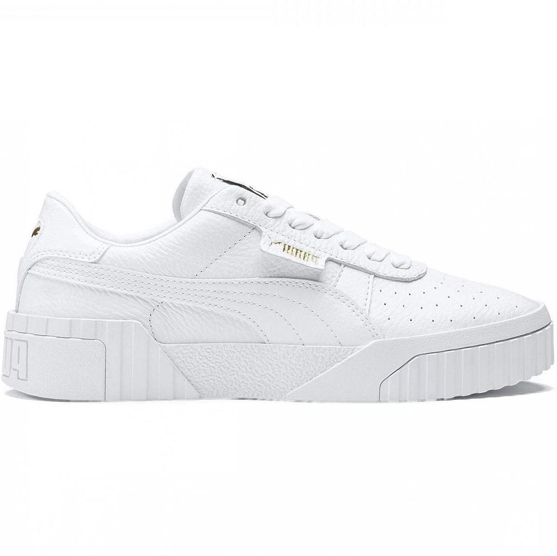 Puma Cali Wn´s Platform Damen Sneaker low weiß schwarz