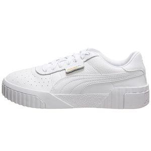 Puma Cali Damen Sneaker weiß gold 369155 01 – Bild 2