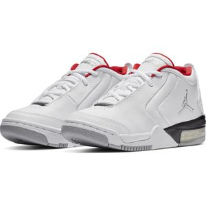 Jordan Big Fund GS Kinder Sneaker weiß schwarz rot BV6434 100 – Bild 3